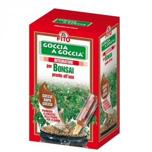 Fito Drop Drop Bonsai 6 Vials From Ml. 32 Fertilizers Liquids