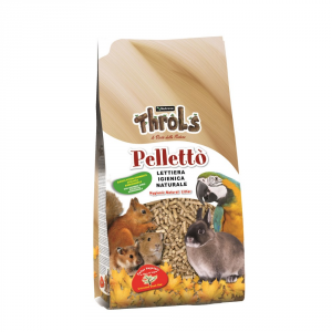 RAGGIO DI SOLE Throls pelletto' kg. 5 - Lettiere roditori