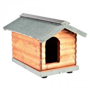 'FUSSDOG Cuccia in legno tronchetto per cane ''misura 2'''