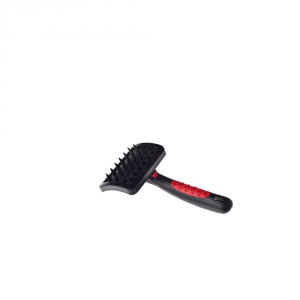Fussdog Brush Rubber Carder Small For Dogs Brushes And Combs For Dogs