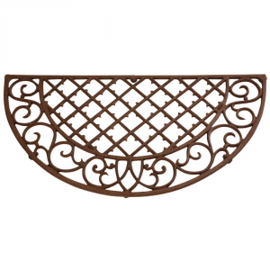 Country Style Semicircle Doormat 67x34 - Interior Furnishing Various Goods