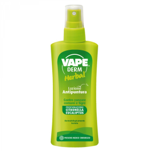 VAPE Vape Derm Herbal Lozione ML. 100 Insetticidi