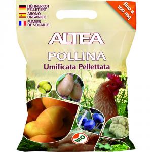 ALTEA Concime pellettato pollina 5kg - Piante orto giardino concimi granulari