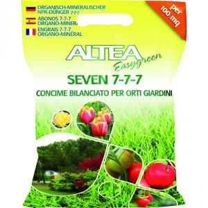 ALTEA Concime granulare seven 7-7-7 5kg - Piante orto giardino concimi granulari
