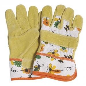 VERDEMAX Guanto da giardino bimbo - bimba in pelle - Potatura guanti da lavoro