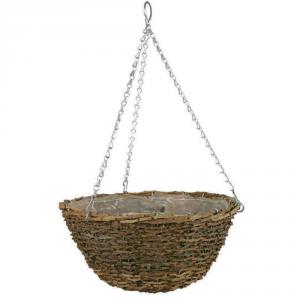 VERDEMAX Basket rustico diametro cm. 35 - Vasi sospesi