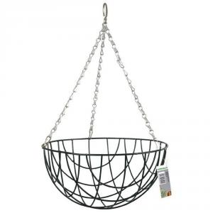 VERDEMAX Basket intrecciato diametro cm. 30 - Vasi sospesi