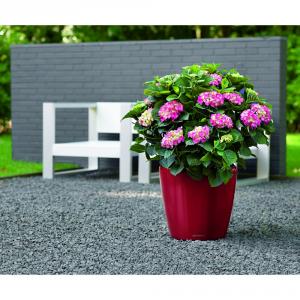 LECHUZA Vaso classico con set di irrigazione rosso cm. 35