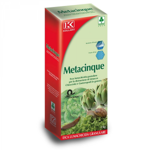 ADAMA Lumachicida Metacinque Kollant Kg. 1 Orto E Giardino