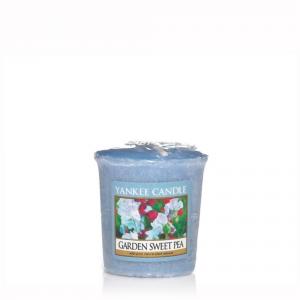 YANKEE CANDLE Moccolo profumato garden sweet pea - Candele profumate