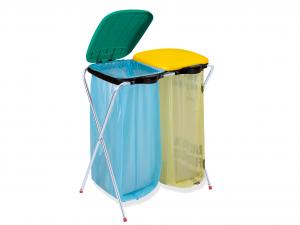 ARTEX Porte-sacs Ecofix 2 Sacs Pour les ordures Et Réorganiser