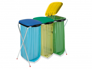 ARTEX Porte-sacs Fixmatik 3 Sacs Pour les ordures