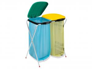 ARTEX Porte-sacs Fixmatik 2 Sacs Pour les ordures