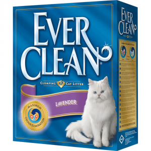 EVER CLEAN Lettiera igienica profumo di lavanda kg. 6 - Sabbie per gatti