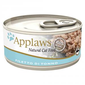 APPLAWS Cat Natural Food Lattina Con Tonno Umido Gatto Grammi 70