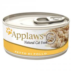 APPLAWS Cat Natural Food Lattina Con Pollo Umido Gatto Grammi 70