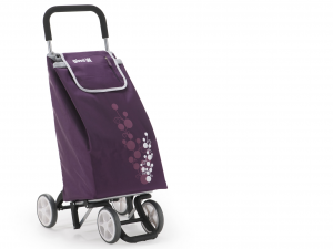 GIMI Cart Expenditure Twin 4 Wheels Plum Reorganization