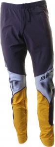 BRIKO VINTAGE Pantaloni lunghi sci fondo uomo KATANA grigio giallo 010266-04
