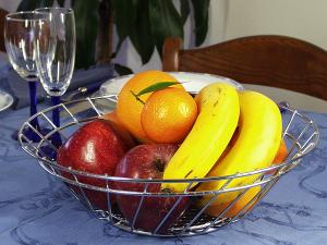 ARTEX Porta frutta kitchenline cromato Conservazione cibi e Barattoli