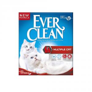 EVER CLEAN Lettiera igienica per ambienti con piu' gatti kg. 10 Sabbie per gatti