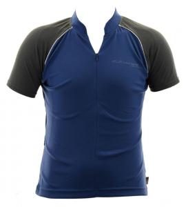 BRIKO T-shirt ciclismo spinning donna ZION B-CONCEPT blu grigio 010423--GF