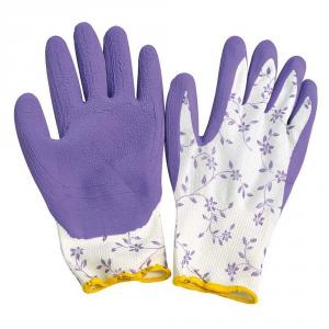 VERDEMAX Guanto da giardino lattice - Potatura guanti da lavoro