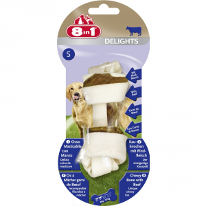 TETRA Snack per cani 8 in 1 beef delights s gr. 40 - Snack per cani