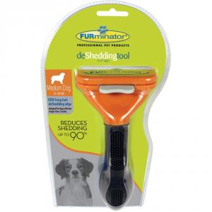 'FURMINATOR Pettine per cane a pelo lungo long hair de shedding ''m'''
