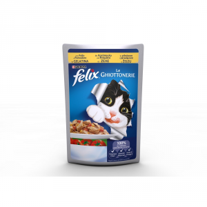 Felix The Delicacies With Pools And Tomatoes Stewed Cat 100 Gr Cat Wet Food