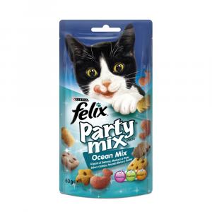 FELIX Party mix snack mix ocean gatto gr. 60 - Snack per gatto