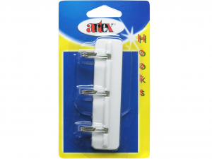 ARTEX Blist Hook 3ps Adhesive Hooks Organization of the house