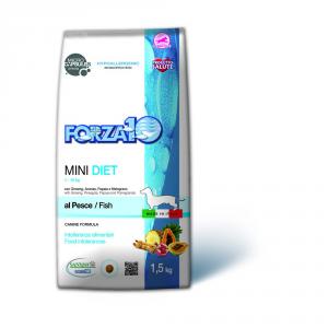 FORZA 10 Mini diet pesce secco cane kg. 1,5 - Mangimi secchi per cani crocchette