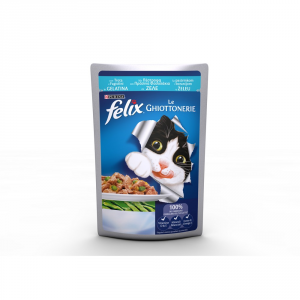 Felix The Delicacies With Trout And Wet Cat Green Beans 100 Gr Cat Wet Food