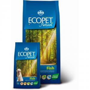 ECOPET NATURAL Adult con pesce secco cane kg. 12 - Mangimi secchi per cani