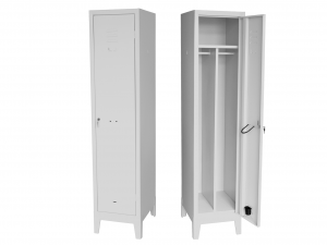 HOME organizzazione Accommodation Wardrobe Changing room Metal 40X50X180