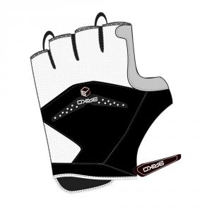 BRIKO Guanti ciclismo bike estivi unisex inserti in gel PRO nero grigio 012710