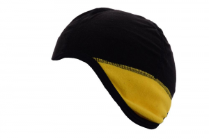 Briko Balaclava Unisex Yellow Black 012820 Rivestimento Plush