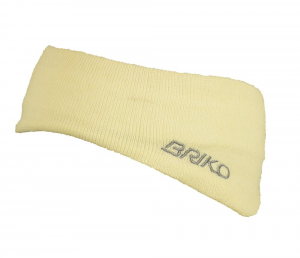 Briko Band Unisex White 012909 Wool And Cotton Internal Rivestito