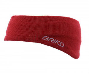 Briko Band Unisex Red 012909 Wool And Cotton Internal Rivestito