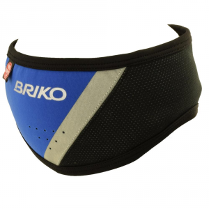 BRIKO Band Elastic Sporting Winter Unisex Blue Royal Black 012896 Wind Stopper