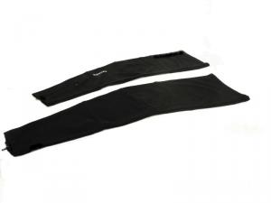 BRIKO Zubehör Gamaschen Socken Unisex Polyester Pbt Solide Schwarz 012971-01