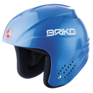 Briko casque de ski descente capuchon unisexe plastique ABS sangle Rookie Blue 013216