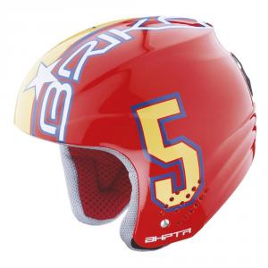 Briko Helmet Ski Descent Unisex Cap Abs Rookie Yellow Red 013216