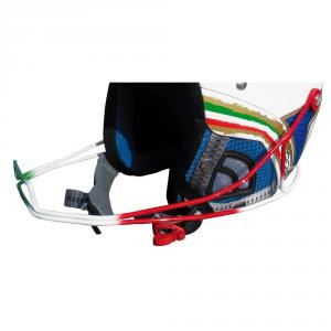 BRIKO Mentoniera per casco sci CHIN GUARD PHOENIX SL bandiera italiana 013494