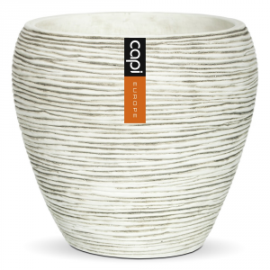 CAPI EUROPE Vaso tondo conico capi indoor - Vasi da interno ceramica
