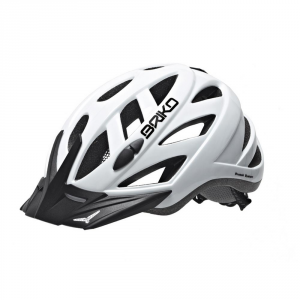 BRIKO Casco ciclismo unisex in-moulding technology CITY bianco 013599