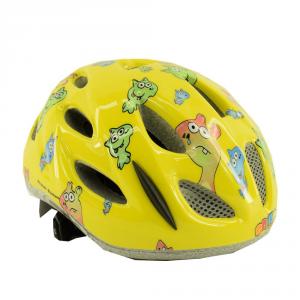 Briko Helmet Cycling Bike Junior Roll Fit Racing Pony Yellow Fantasy 013595