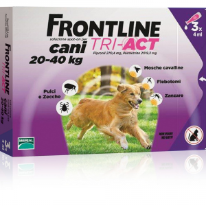 Frontline Tri-act For Dogs 20-40kg - Dog Insecticidal