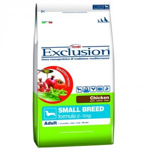 EXCLUSION Dog Small Breed Pollo 2Kg - Alimenti Secchi Monoproteici Per Cani