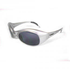 Briko Vintage Glasses Sports By Themselves Unisex Twin Shield Silver 01401103s.b8